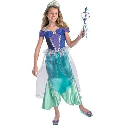 The Little Mermaid Ariel Costume Prestige Girl - Child Small 4-6 by eCostumes2u