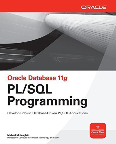 Oracle Database 11g PL/SQL Programming (Oracle Press) by Mclaughlin, Michael (2008) Paperback