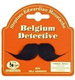 Belgium Detective Fancy Dress Moustache Tash Tache