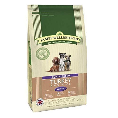 James Wellbeloved Hund Senior Rasse Pute, 7.5 kg, klein -