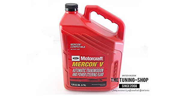 Motorcraft Mercon V Automatic Transmission Fluids Atf And Power Steering Fluid 1 25 Us Gal Auto