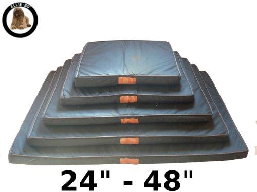 Ellie-Bo Black Waterproof Memory Foam Orthopaedic Dog Bed for Medium 30-inch Dog Cage/Crate 6