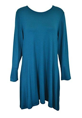 JUST LADIES CLOTHING - Canotta -  donna Blu
