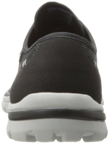 Skechers Superiorplame, Baskets Basses homme Noir - Black - Schwarz (BKGY)