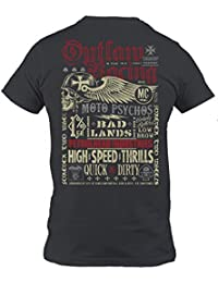 Petrolhead  Outlaw Racing - Camiseta Motor - Regalo Hombre - T-Shirt Racing  - 212f9ac4f1501