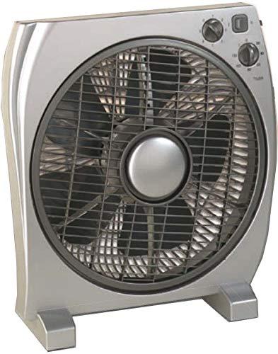 CasaFan 67533Household Blade Fan 35W Silver Household Fan–Household Fans (Silver, 35W, 220–240, AC, 400mm, 160mm)