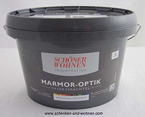Marmor-Optik Effektspachtel 1 kg Schöner Wohnen