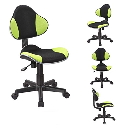 BÜROSTUHL in Grün Schreibtischstuhl ergonomisch Drehstuhl höhenverstellbar Netzbezug Duhome 0353