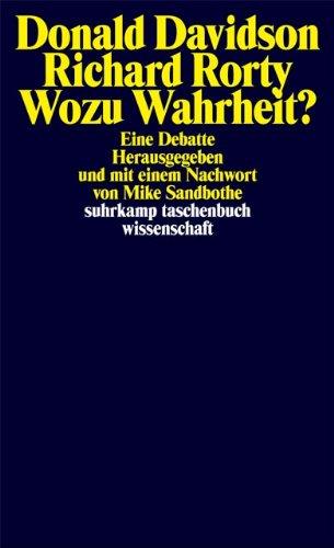 Wozu Wahrheit?: Eine Debatte (suhrkamp taschenbuch wissenschaft)