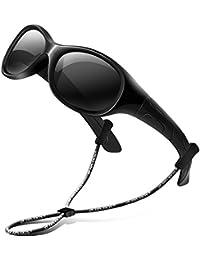 0a3966c776c700 RIVBOS RBK103 Mode Lunette de Soleil Mixte Enfant Sport Polarisées UV400 en  caoutchouc flexible Lunettes de