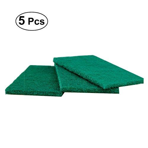 Ounona mit Schale Schüssel 00442Küche, Peeling-Schwamm Gusseisen-Pads (grün) -