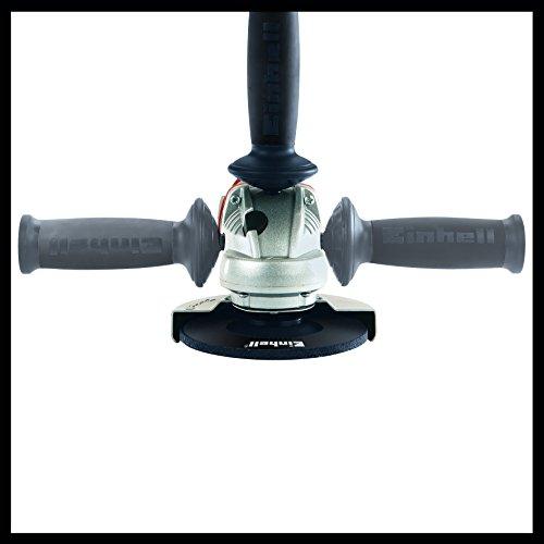 Einhell Akku Winkelschleifer TE-AG 18 Li Solo Power X-Change (Lithium Ionen, 18 V, Scheiben-Ø 115 mm, Softstart, Schutzhaube, ohne Akku und Ladegerät) - 2