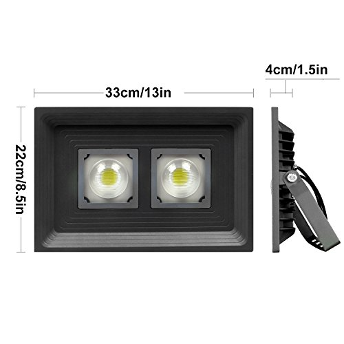 Pauwer led floodlight outdoor security lights with uk plug pauwer led floodlight outdoor security lights with uk aloadofball Choice Image