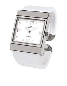 Jean Patrick Damen-Armbanduhr Analog Edelstahl weiss 770730BL