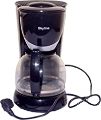 Skyline Plastic Coffee Maker (Black)
