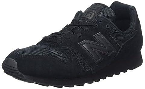 New Balance W373, Herren Sneakers, Schwarz (Black), 40.5 EU (7