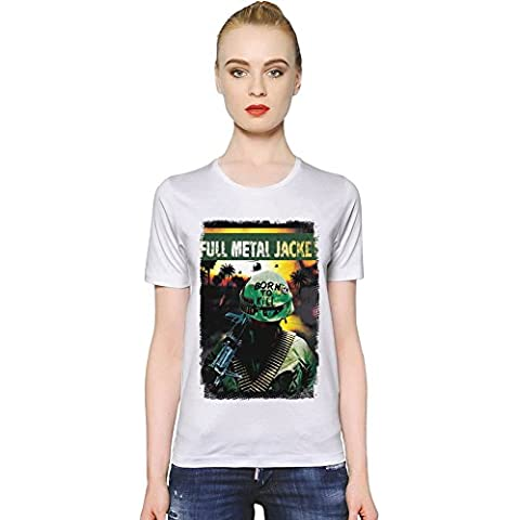 Full Metal Jacket Warrior T-shirt donna Women T-Shirt Girl Ladies Stylish Fashion Fit Custom Apparel By Slick Stuff
