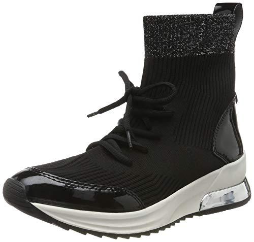Tamaris Damen 1-1-25228-23 Hohe Sneaker, Schwarz (Black Comb 98), 40 EU