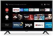 Xiaomi Mi Smart TV 4A 32 Zoll (HD LED Smart TV, Triple Tuner, Android TV 9.0, Fernbedienung mit Mikrofon, Amaz