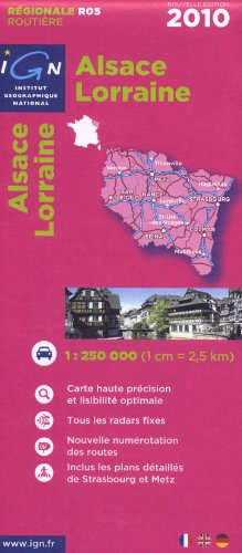 R05 Alsace/Lorraine 2010 1/250.000