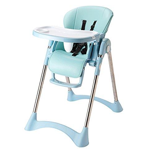 STOWNN Multi Funktion Hochstuhl Für Kleinkinder Esstisch, Falten Kindersitz, Kleinkind, 1-3 Jahre Alten Sicherheit Home, Frisches Blau (3-sitz Tabelle Kleinkind)