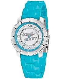 Miss Sixty SIJ005 - Reloj analógico de mujer de cuarzo con correa de silicona azul
