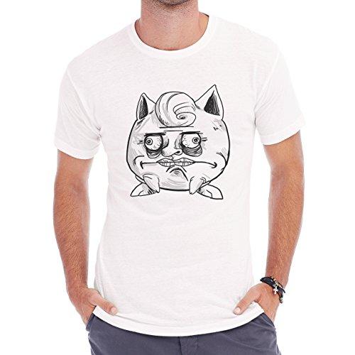 Pokemon Meowth Persian Normal Me Gusta Herren T-Shirt Weiß