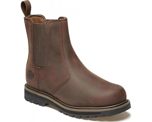 Dickies Trinity Dealer Boot, Leder, non-safety, Gr. UK 6