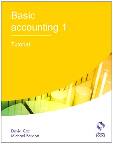 Basic Accounting 1 Tutorial (AAT Accounting - Level for sale  Delivered anywhere in UK