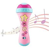 Ellien Kindermikrofon mit Long-Recording & Voice Change, Musik Karaoke-Spielzeug mit Gesang für Jungen und Mädchen
