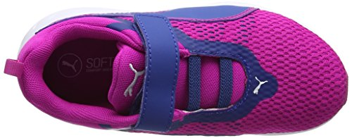 Puma Unisex-Kinder Flare 2 V Ps Low-Top Pink (ultra magenta-true blue 04)