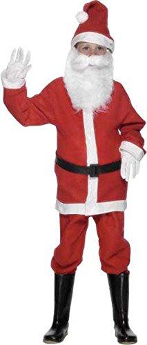 Kostüm Mini Pere Noel Flanell Größe (Kostüm Noel Pere)