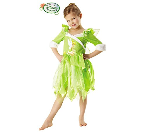 Disney Princesas Disfraz de Campanilla Winter, para niñas (Rubie'S 881869)