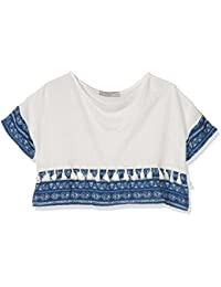 Teddy Smith Taponi, Camiseta para Niños, Blanc (Middle White), 8 Años