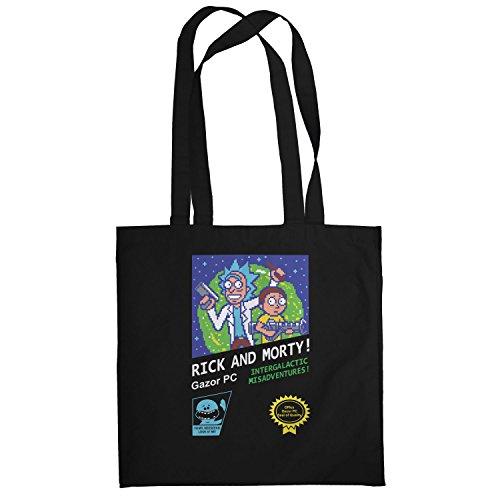 Texlab–Retro Design Rick–sacchetto di stoffa Nero