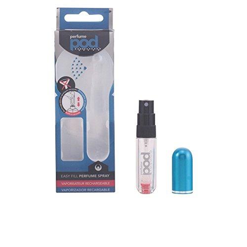 Perfume Pod Clear Refillable Perfume Atomiser with Spray & Genie-S Refill (Black) Test