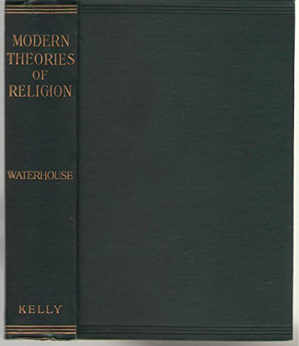 Modern Theories of Religion