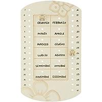 Calendario Perpetuo Thun Prestige.Calendario Perpetuo Thun Casa E Cucina Amazon It