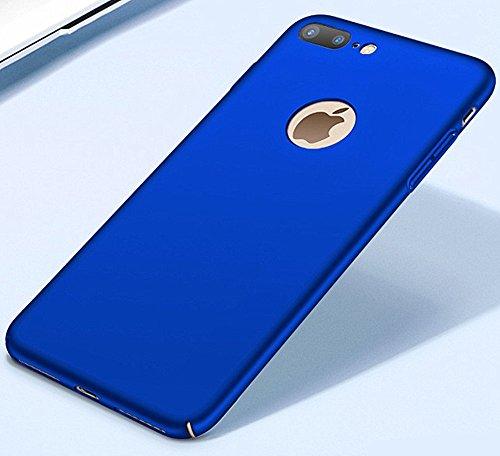 iphone 7/7plus Coque Pacyer® Nouveau Ultra Slim Légère Case Cover Back Shell Bumper para Apple iphone 7/7plus Bleu