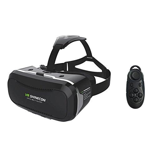 coovoo 3d VR Headset, universele 3d bril instelbaar virtuele realiteit bril Video Movie Game bril Virtual 3d Reality glasses VR World Head mounted voor 3d Films en Games voor 4.7