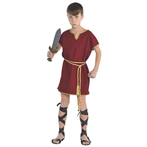 Römer Tunika Kinder Kostüm (Römische Tunika Kostüm)