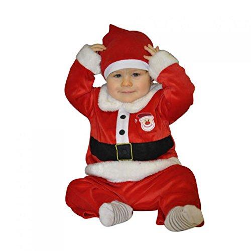 Santa Claus Kostüm Größe 1-2 Jahre Santa (Santa Kostüme Baby Claus)