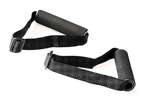 Griffe 1 Paar Band Tube Fitness Sport Workout Krafttraining Ersatz Zubehör