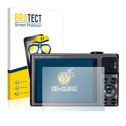 Galleria fotografica 2x BROTECT Pellicola Protettiva Canon PowerShot SX620 HS Schermo Protezione – Trasparente, Anti-Impronte