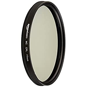 AmazonBasics Circular Polarizer Filter - 77 mm