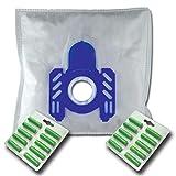 20 x Mr.Clean Staubsaugerbeutel + 20 Duftstäbe geeignet für AEG-Electrolux Vampyr: CE 2000 2100 2200 2300 2400W