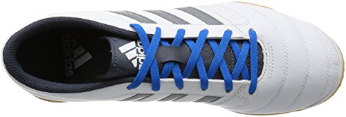 adidas Gloro 16.2 In, Scarpe da Calcio Uomo Multicolore (Ftwwht/Ngtmet/Utiblu)