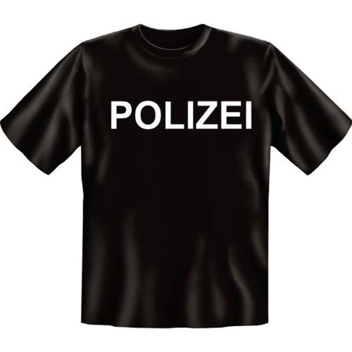 Stylisches und lustiges T-Shirt: Polizei in verschiedenen Größen von S bis 5XL
