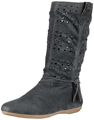 Marc Shoes Janine, Damen Halbschaft Schlupfstiefel, Grau (asphalt 120), 38 EU