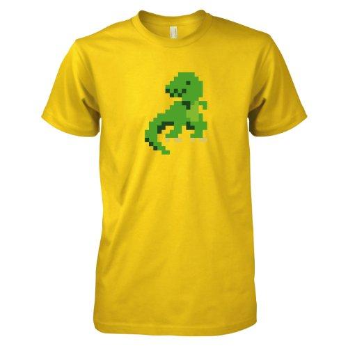 TEXLAB - Pixelmonster - Herren T-Shirt Gelb